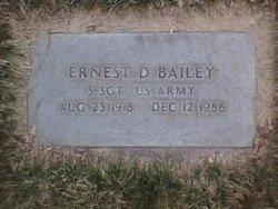Sgt Ernest Dean Bailey