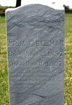 Julia Frances <I>Beebe Wallingford</I> Beeman