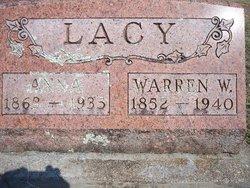 Anna <I>Poe</I> Lacy