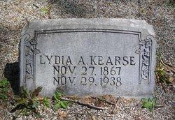 Lydia A <I>Eaves</I> Kearse