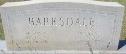 Thomas Walter Barksdale, Sr