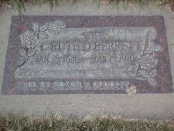 Caroline Ruth <I>Denney</I> Berrett