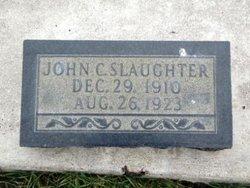 John C Slaughter