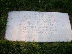 CPT Harold W Barber