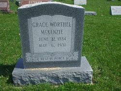 Grace <I>Worthel</I> McKenzie