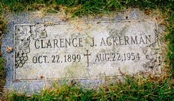 Clarence Joseph Ackerman