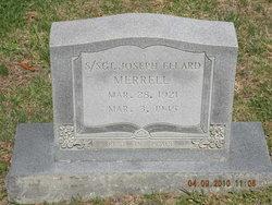 Sgt Joseph Ellard Merrell