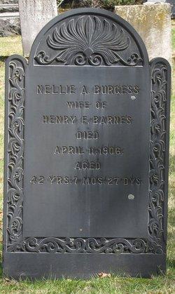 Nellie A. <I>Burgess</I> Barnes