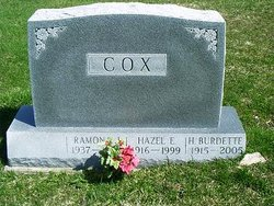 Hazel E. <I>Harper</I> Cox