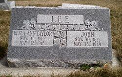Eliza Ann <I>Taylor</I> Lee