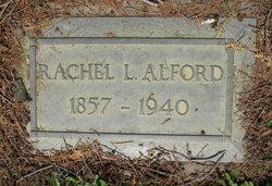 Rachel Lindsay <I>Applegate</I> Alford