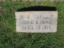 Col William Benjamin Dunlap