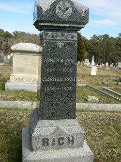 Clarissa <I>Atwood</I> Rich