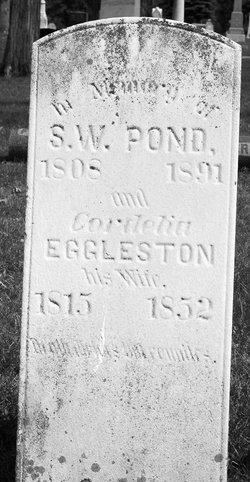 Rev Samuel William Pond (1808-1891) - Find A Grave Memorial