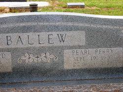 Annie Pearl <I>Perry</I> Ballew