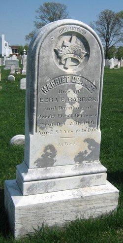 Harriet <I>Cramer</I> Barrick