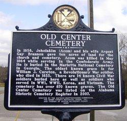 Old Center Methodist Church Cemetery
