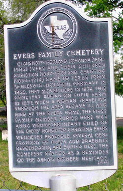 Evers Family Cemetery