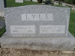 Elizabeth <I>McCalmont</I> Lyle