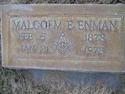 Malcolm Edward Enman