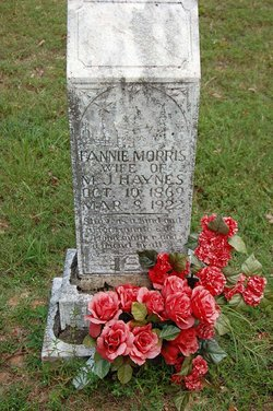 Fannie Ruth <I>Morris</I> Haynes