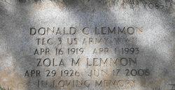 Donald Claude Lemmon