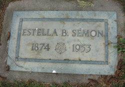 Estella B <I>Dibble</I> Semon
