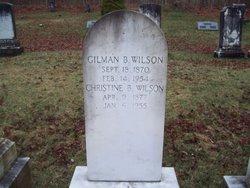 Gilman B Wilson