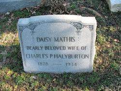 Daisy Almeta <I>Mathis</I> Halyburton