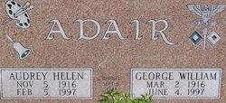Audrey Helen <I>Hall</I> Adair