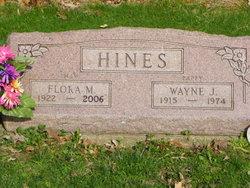Flora M <I>Evans</I> Hines