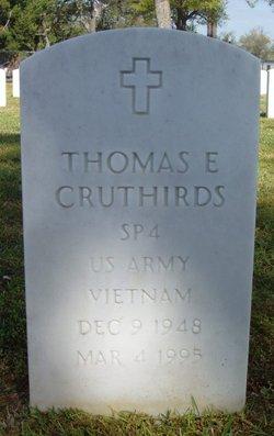 SPC Thomas E Cruthirds