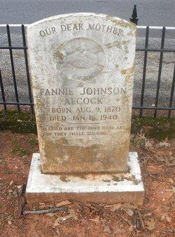 Fannie Johnson Alcock