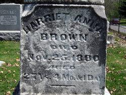 Harriet Anna Brown