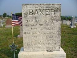 Sarah Rebecca <I>Baker</I> Brechbiel