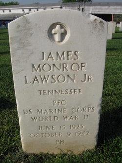 PFC James Monroe Lawson, Jr
