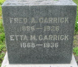 """Frederick Andrew """"Fred"""" Carrick"""