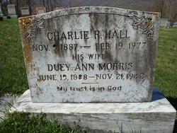 Duey Ann <I>Morris</I> Hall