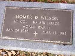 Homer D. Wilson