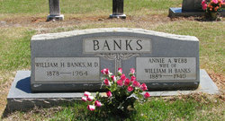Annie A. <I>Webb</I> Banks