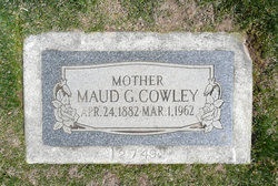 Maud Granger <I>Davis</I> Cowley