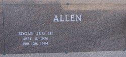 """Edgar """"Jug"""" Allen, III"""