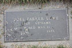"""Joel Parker """"Park"""" Lowe"""