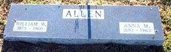 """Anna Mae """"Annie"""" <I>Skidmore</I> Allen"""