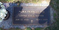 Nora Frances <I>Sullivan</I> Gee