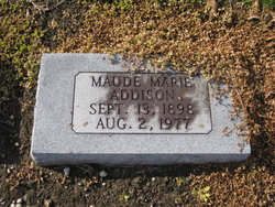 Maude Marie Addison
