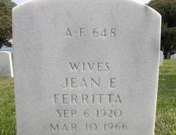 Jean E Ferritta