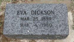 "Eva C. ""May"" <I>Stringer</I> Dickson"