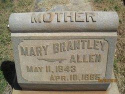 Mary <I>Brantley</I> Allen