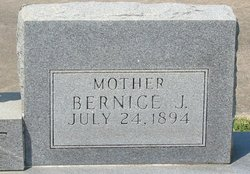 Bernice <I>Jones</I> Blount